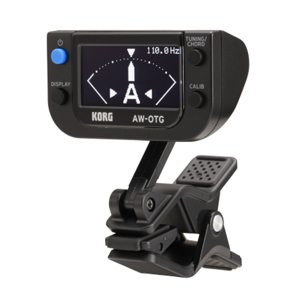 Korg Oled Clip-On Tuner For Guitar, Black
