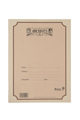 Archives Spiral Bound Manuscript Paper Book, 12 Stave, 96 Pages