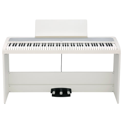 Korg B2SPWH 88-Key Digital Piano With Stand White