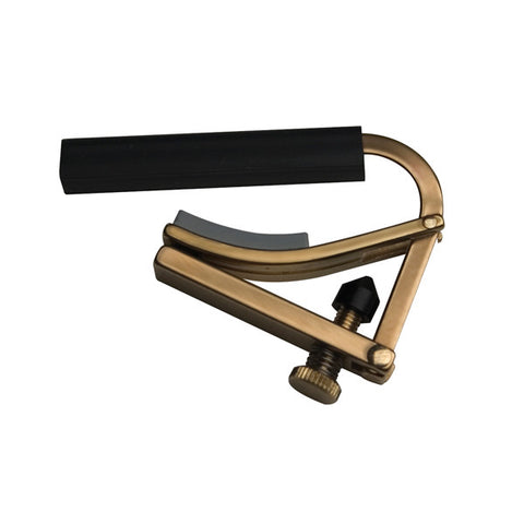 Shubb Original Brass Nylon String Guitar Capo