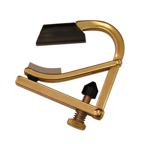 Shubb Brass Partial Guitar Capo