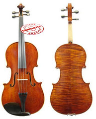 D'Luca Orchestral Series Flamed Handmade Viola 16.5 Inches