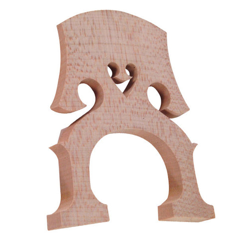 D'Luca Unfitted Standard Cello Bridge 1/4