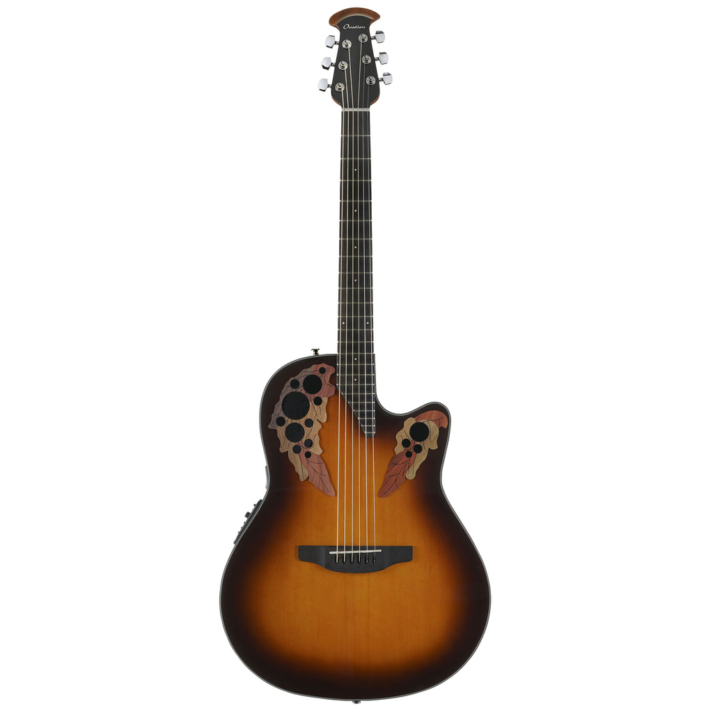 Ovation Celebrity Elite Mid Depth, Acoustic Electric Guitar, Sunburst