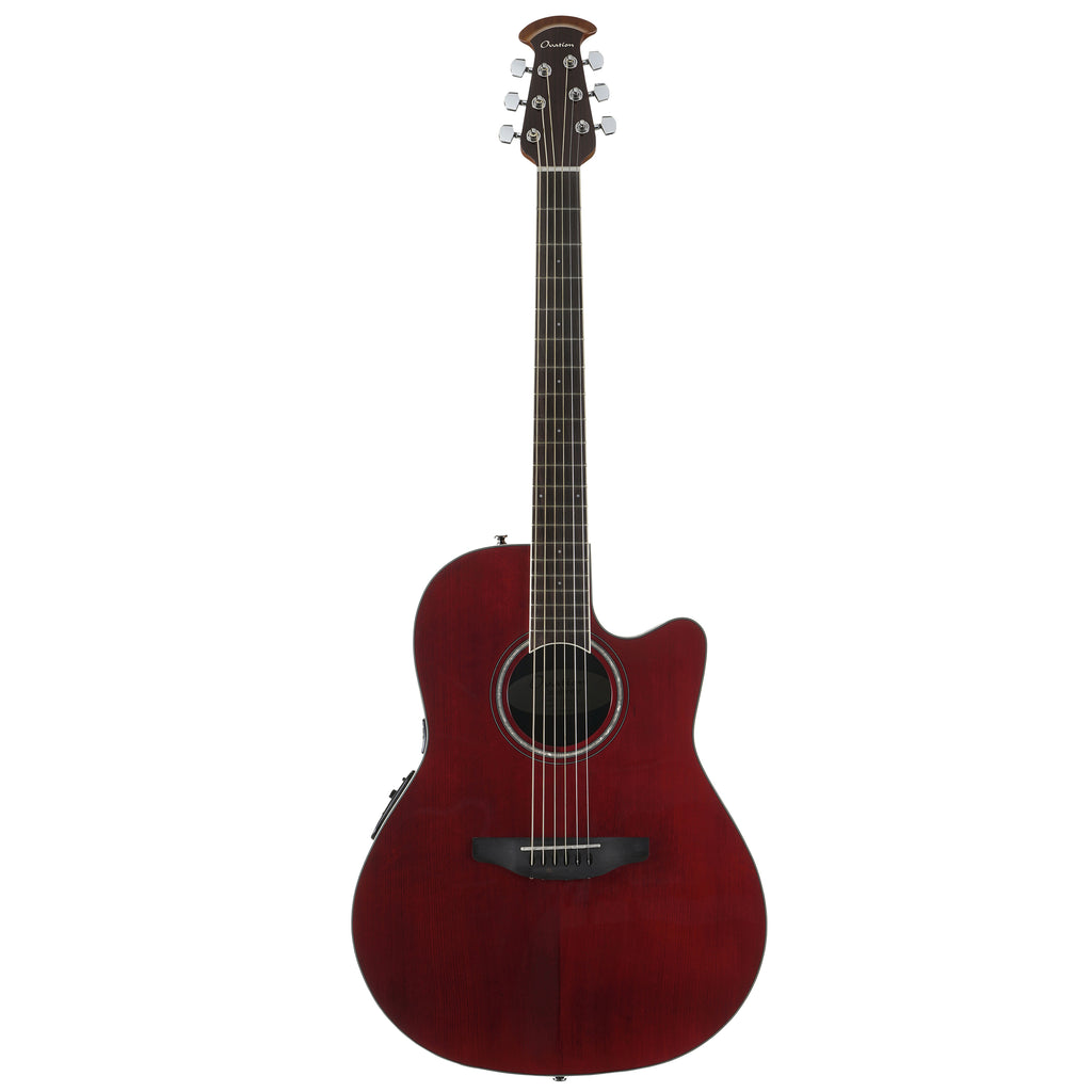 Ovation Celebrity Standard, Acoustic Electric Guitar, Ruby Red