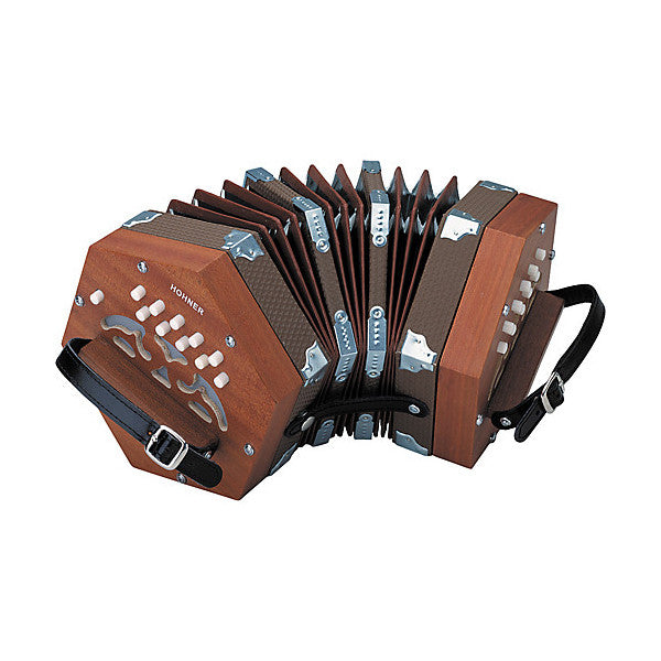 Hohner Concertina Mahogany Finish