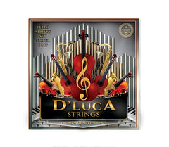 D'Luca Copper Nickel Alloy Wound Cello Ball End String Set 4/4