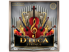 D'Luca Steel Acoustic Guitar Strings 6 Pcs Set
