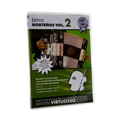 Virtuosso Exitos Norteños en el Accordion de Botones DVD & CD Vol.2