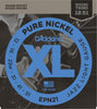 D'Addario EPN21 Pure Nickel Electric Guitar Strings, Jazz Light, 12-52
