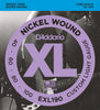 D'Addario EXL190 Nickel Wound Bass Guitar Strings, Custom Light, 40-100, Long Scale