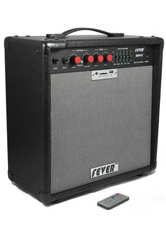 Fever 40 Watts Bass Combo Amplifier with USB and SD Audio Interface with Remote Control