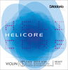 D'Addario Helicore Violin Single Low C String, 4/4 Scale, Heavy Tension