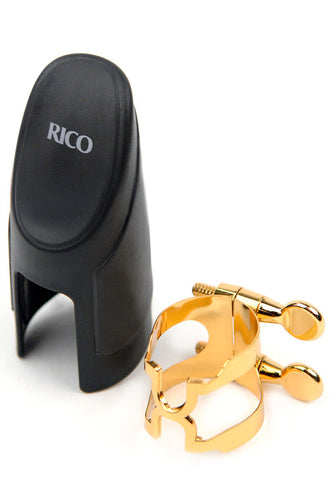 H-Ligature & Cap, Bb Clarinet, Gold-plated