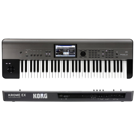 Korg Krome EX 61 Key Synthesizer Workstation