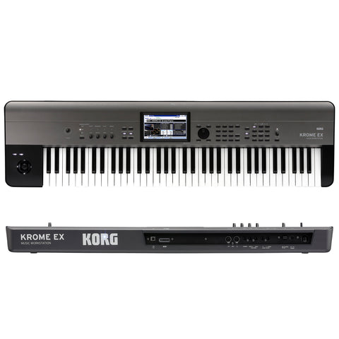 Korg Krome EX 73 Key Synthesizer Workstation