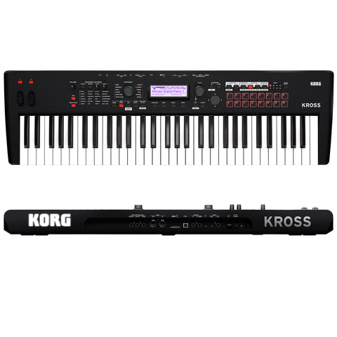 Korg Kross 2 61-MB 61 Key Synthesizer Workstation Matte Black