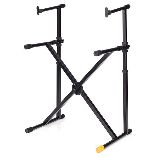 Hercules EZ-Lock Double Tier X Keyboard Stand