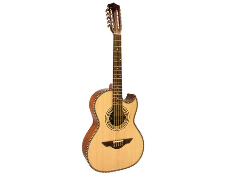 H. Jimenez El Estandar Acoustic / Electric Bajo Quinto Natural