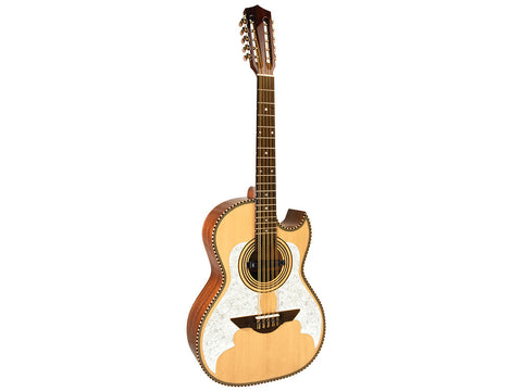 H. Jimenez El Murcielago Acoustic / Electric Bajo Quinto Natural