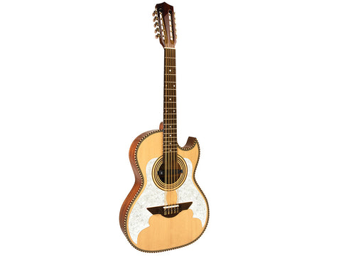 H. Jimenez El Murcielago Acoustic / Electric Thin Body Bajo Quinto Natural