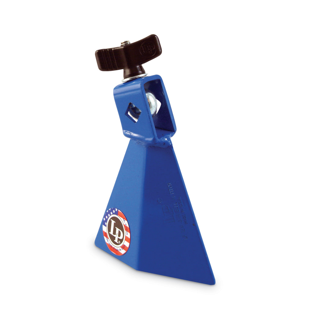 Latin Percussion LP Jam Bell 3.5 Inch With 3/8 Inch Mount, Small, Blue