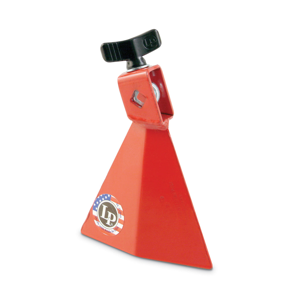 Latin Percussion LP Jam Bell 4 Inch With 3/8 Inch Mount, Large, Red