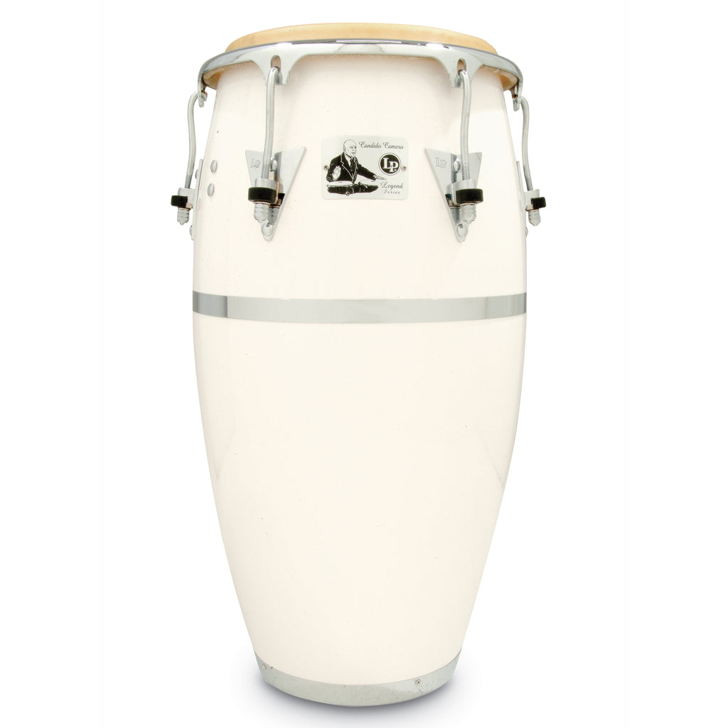 Latin Percussion Legends Candido Camero Signature White Fiberglass 11 quinto