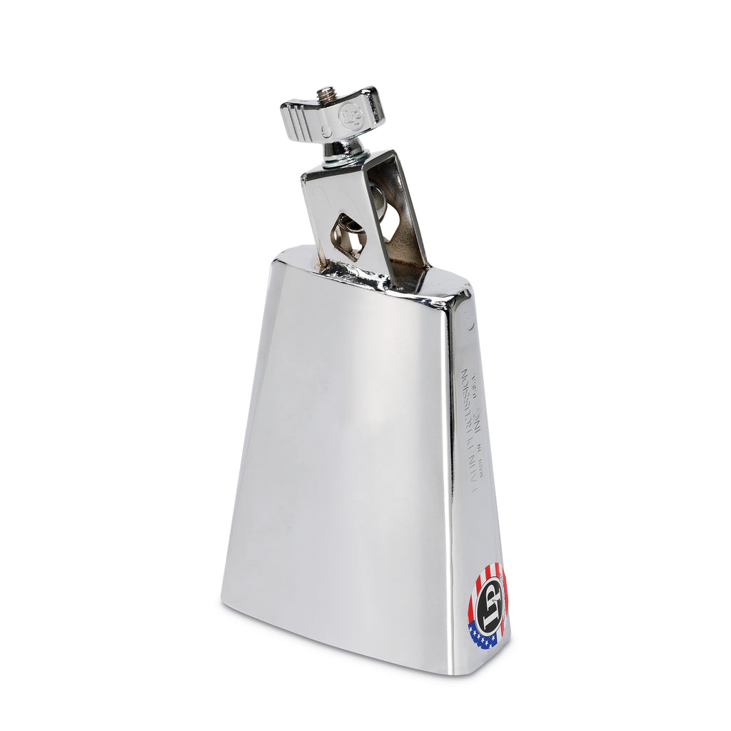 Latin Percussion LP Black Beauty Senior 5.5 Inch Cowbell, Chrome