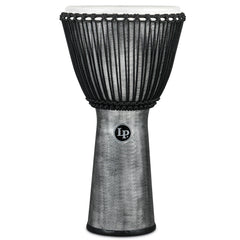 "Latin Percussion LP FX Synthetic Shell 12 1/2"" x 25"" Djembes Gray"