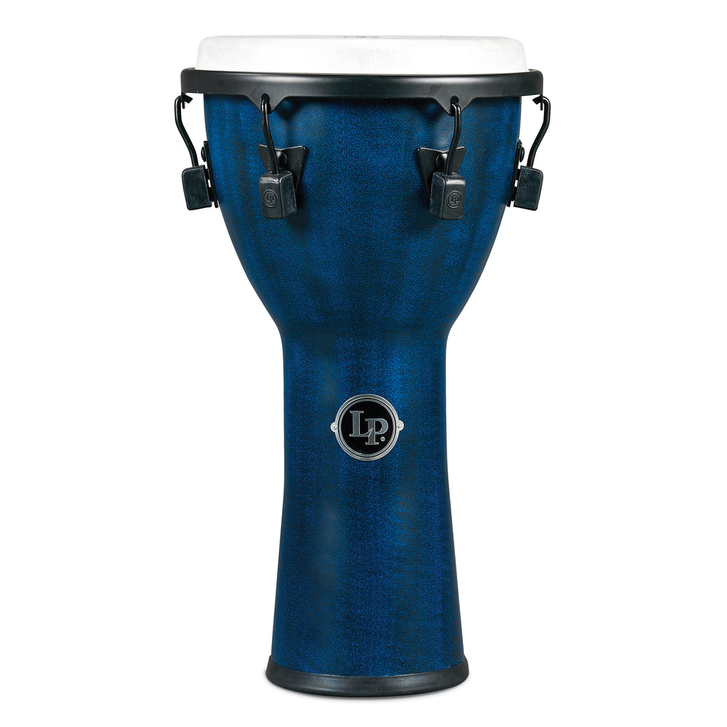 "Latin Percussion LP FX Synthetic Shell 11"" x 22"" Djembes Blue"