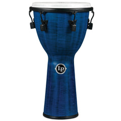 "Latin Percussion LP FX Synthetic Shell 12 1/2"" x 25"" Djembes Blue"