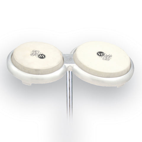 Latin Percussion LP Giovanni Compact Bongos and Mounting Post