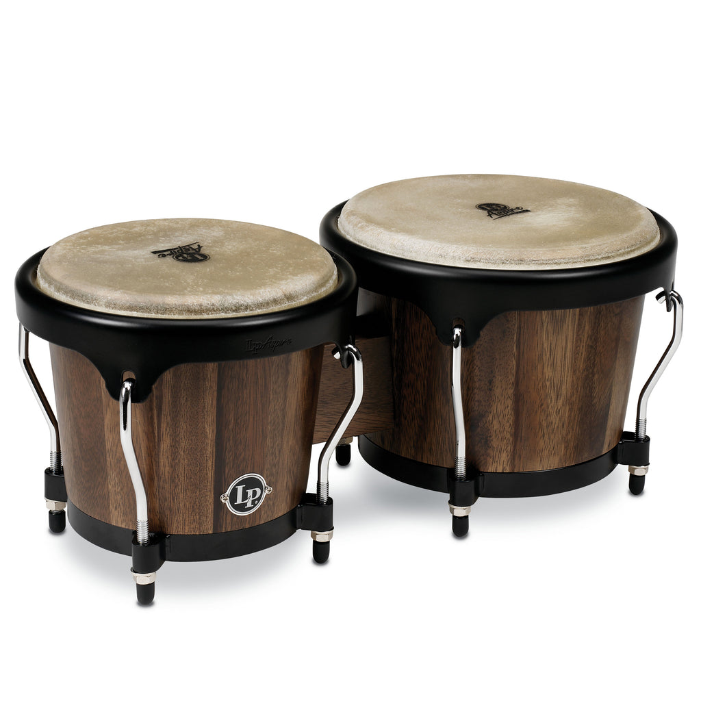 Latin Percussion LP Aspire Wood Bongo Siam Walnut