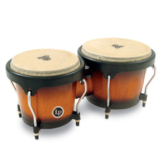 Latin Percussion LP Aspire Wood Bongo Vintage Sunburst