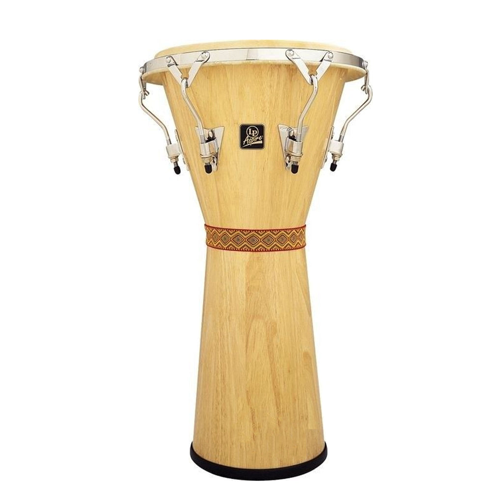 Latin Percussion LP Aspire Tunable Djembe Natural/Chrome