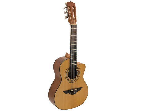 H. Jimenez Voz de Trio Acoustic Requinto with Gig Bag