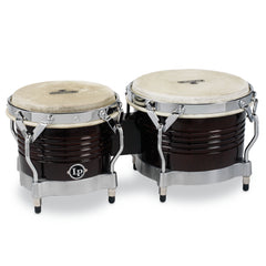 Latin Percussion LP Matador Wood Bongos Dark Brown