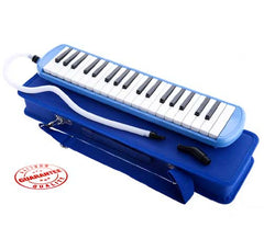 D'Luca Blue 37 Key Melodica with Case