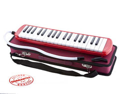 D'Luca Red 37 Key Melodica with Case