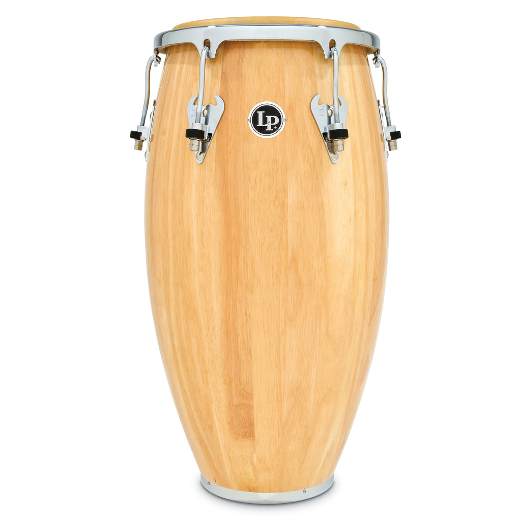 Latin Percussion LP Matador Wood 12 1/2 in Tumba Natural Chrome Hardware