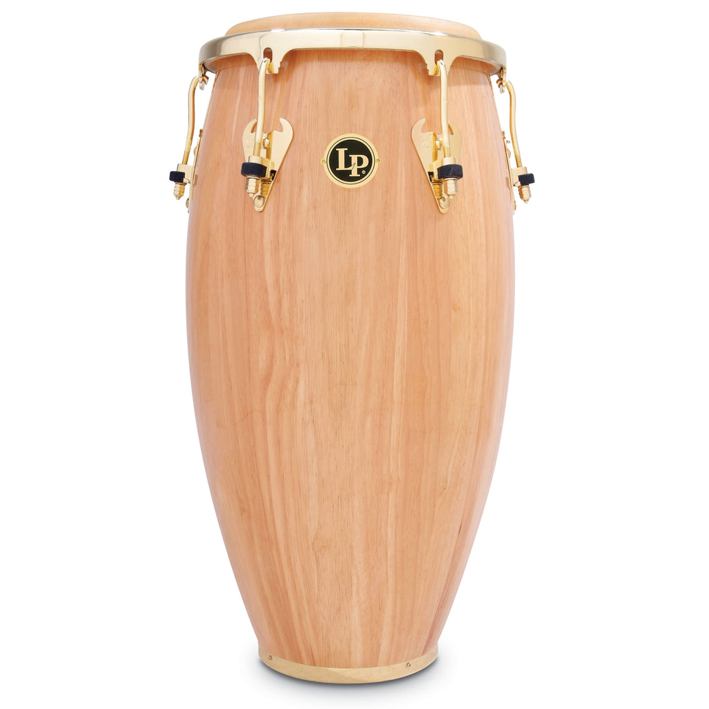 Latin Percussion LP Matador Wood 12 1/2 in Tumba Natural Gold Hardware
