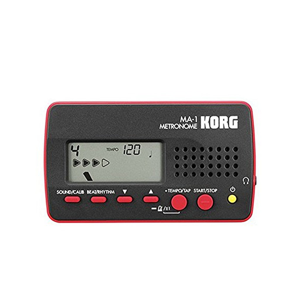 Korg Visual Beat Counting Metronome, Red