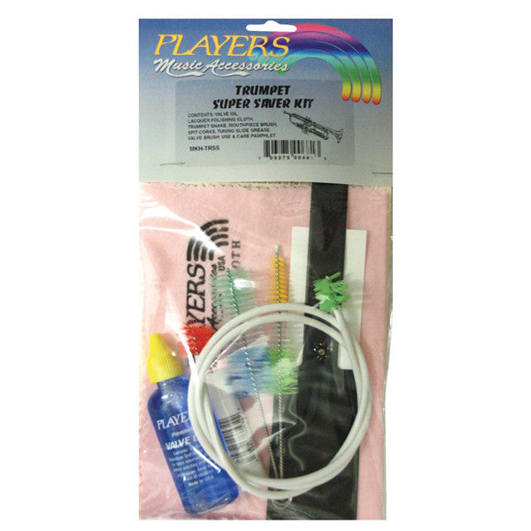 Players Super Saver Trumpet Care Kit