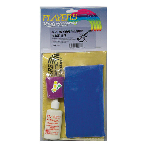 Players Super Saver Violin Care Kit