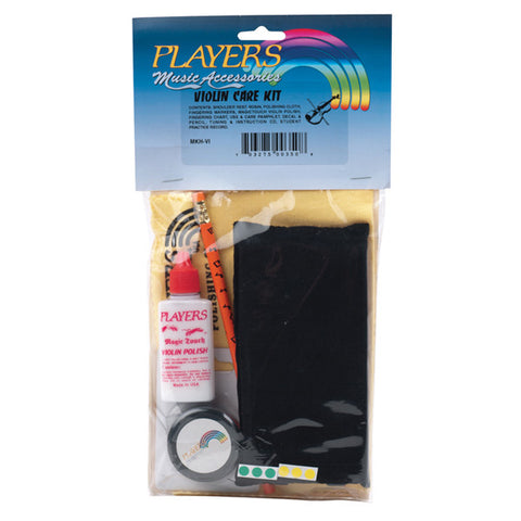 Players Violin Care Kit With Header Card