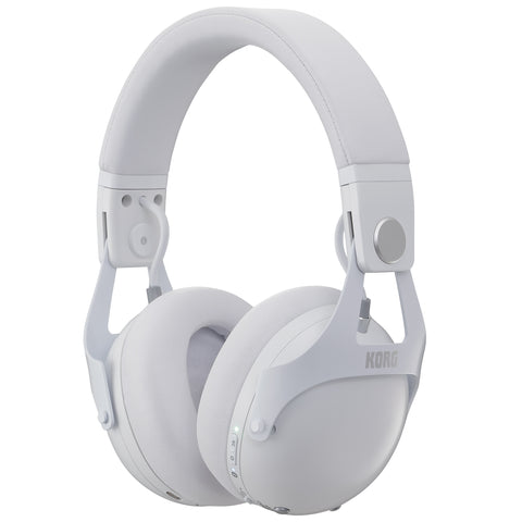 Korg NCQ1WH Smart Active Noise Cancelling Headphones White