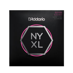 D'Addario NYXL32130SL Bass Guitar Strings 6-String Super Long Scale
