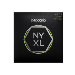 D'Addario NYXL45125 Bass Guitar Strings 5-String Top Med Btm 45-125 Long Scale
