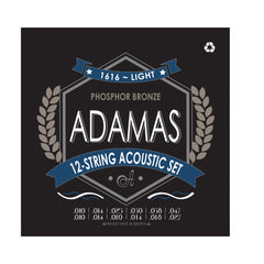 Adamas 12-String Acoustic Guitar Set Light .010-.027